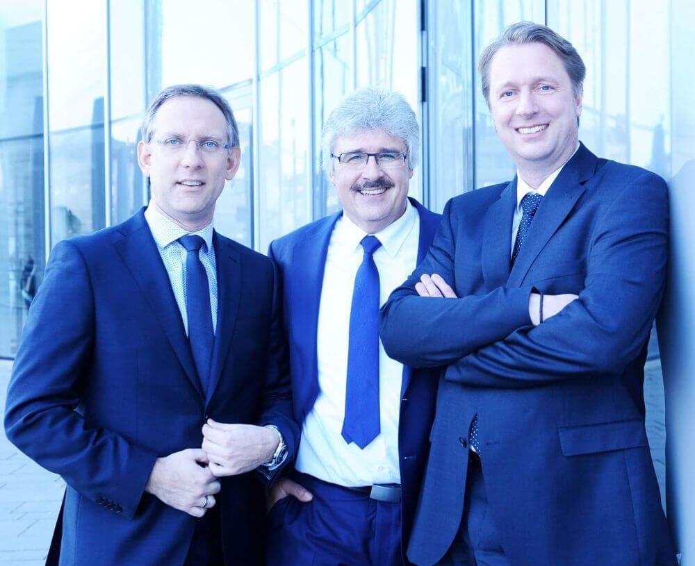 IMC Geschäftsführung -v.l.n.r.: Sascha Bogatka (Geschäftsführender Gesellschafter), Holger Schwabach (Geschäftsführender Gesellschafter), Holger S. Krause (Geschäftsführender Gesellschafter)